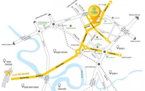 CHCC NOVIA MT Phạm Văn Đồng, 1,4 tỷ/2PN NT Cao Cấp. 0938.205.314