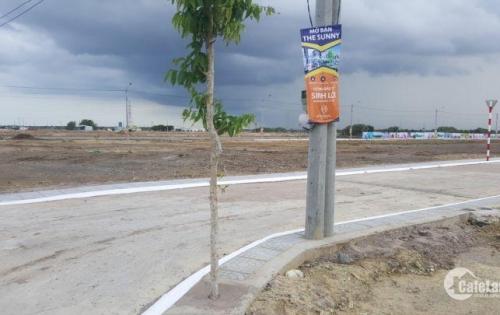 Bán đất nền thổ cư, sổ hồng riêng, 290tr/nền, ngay khu vực cảng quốc tế Cái Mép