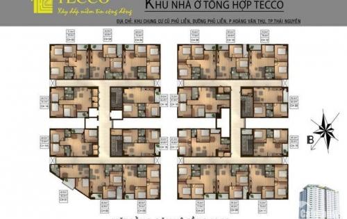Bán căn hộ 2 phòng ngủ tại chung cư Tecco Phủ Liễn