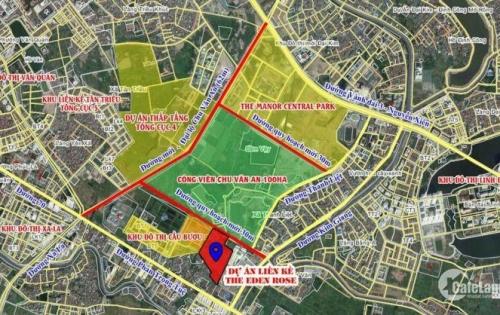 Biệt thự, liền kề khu Nguyễn Xiên giá cực tốt chỉ từ 60- 70 triệu/m2