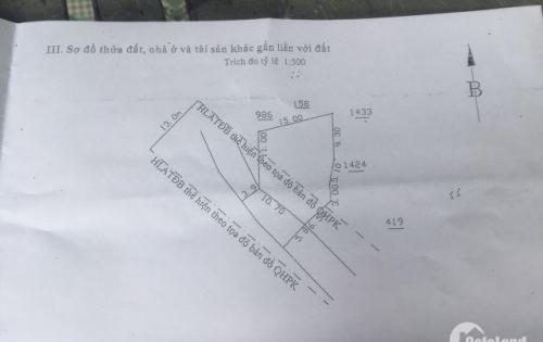 Nhà Cấp 4 Gần Ngã Tư Hòa Lân, Thuận An, 230m2