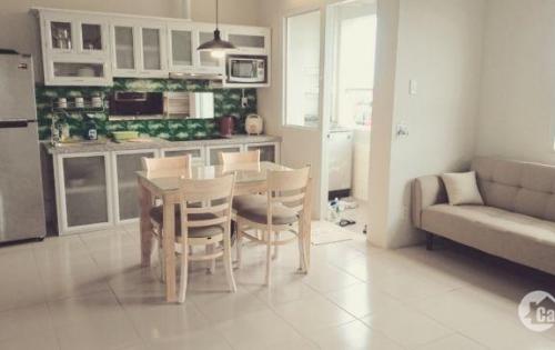 Cho thuê chung cư Becamex ngay khu VietSING Vsip1,tầng 10, căn góc 2PN, Full nội thất,giá 8tr/tháng.