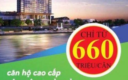 Cơ hội sở hữu căn hộ view sông 660tr/căn bàn giao full nội thất, SỔ HỒNG VĨNH VIỄN