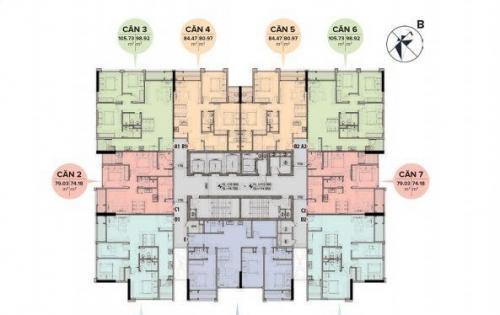 Chỉ 2,7 tỷ sở hữu ngay căn hộ cao cấp tại dự án The Sun Mễ Trì