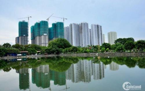 Bán căn 2pn- dự án Goldmark city, view hồ điều hòa, sân bóng, giá 25tr/m.