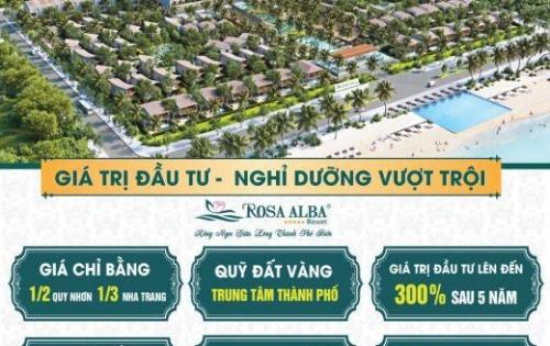 Biệt thự biển Rosa Alba Tuy Hòa, lợi nhuận 200%/3năm, từ 5.9 tỷ/căn 220m2 full nội thất 5*