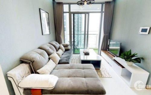 Cho thuê căn hộ 2PN, full nội thất, DT 80m2 Vinhomes Central Park
