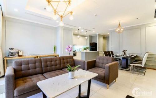 Vinhomes Central Park!!! Cho thuê căn hộ chung cư 2PN, full nội thất, view sông SG khu Landmark