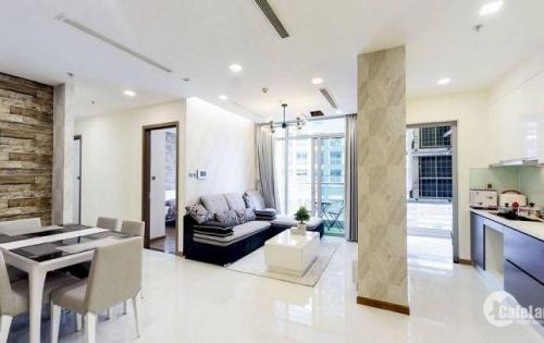 Vinhomes Central Park - Cho thuê căn hộ 3 PN, tầng trung, View sông Sài Gòn. Giá thương lượng