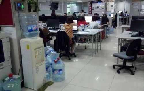 Cho thuê  văn phòng mặt phố Phương Mai diên tích 65- 90- 110 thông sàn