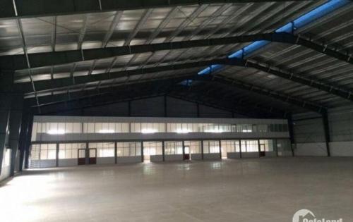 Cho thuê xưởng 4990m2 tại Biên Giang, Hà Đông Hà Nội điện 1200KVA container vào tốt