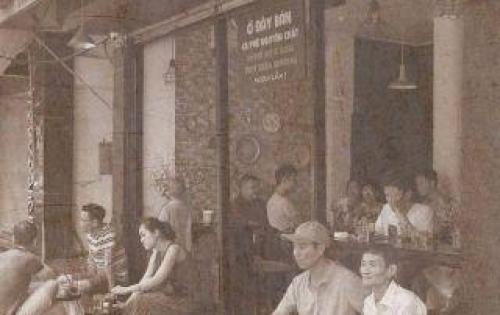 Sang nhượng quán Tiệm cà phê Phố Tôi,trung tâm TP Hà Nội,vị trí đắc địa,giá cực mềm.