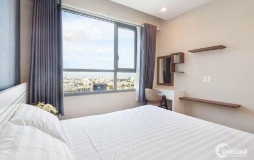 Cho thuê căn hộ 2 phòng ngủ tại The Gold View quận4, đầy đủ nội thất, lầu cao, view đẹp,giá thuê 20tr/th. LH: 0905851609