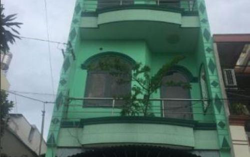 Cho thuê nhà MT nguyên căn C12, P13, Tân Bình, 4x14, 2 lầu, 4 phòng.