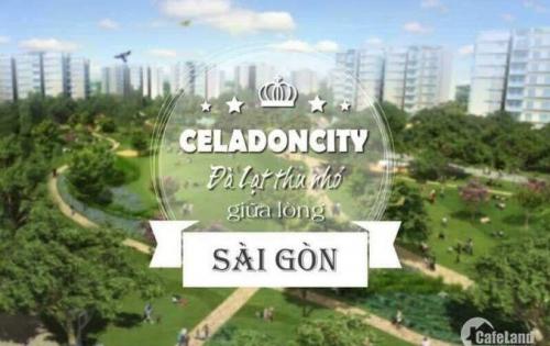 Cho thuê chcc celadon city 3pn – 2wc -98m2 -full nt , giá 13tr/tháng,có ban công.