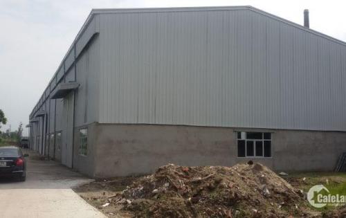 Cho thuê 2 nhà xưởng 1100m2, 1500 m2  tại Thuận Thành, tỉnh Bắc Ninh