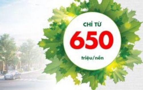 SIÊU LỜI - ĐẤT NỀN KĐT AN NHƠN GREEN PARK GIÁ CHỈ TỪ 650triệu