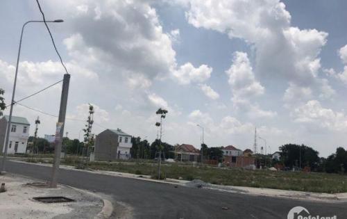 Bán đất mặt tiền Ngô Quyền, xã Bến Cát, sổ đỏ thổ cư 100%.