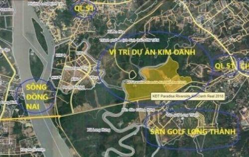 Chỉ 750tr/nền sở hữu đất ngay sân Golf LT dự án Paradise Riverside