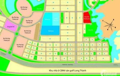 Bán Đất Dự Án Đối Diện Sân Golf Long Thành, xã Phước Tân, Biên Hòa, Đồng Nai