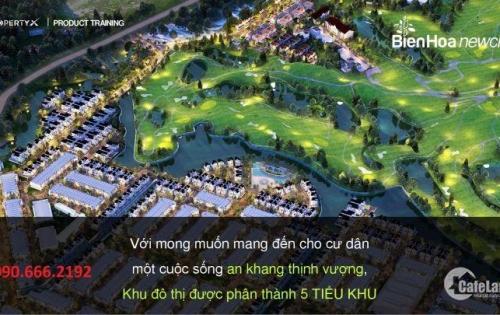 Đất nền Biên Hòa NewCity nội khu sân golf Long Thành, từ 10tr/m2