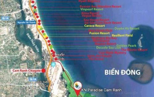 Đất nền - nhà phố KN Paradise Cam Ranh - chính thức nhận đặt chỗ lô giá gốc từ CĐT chỉ từ 18 tr/m2