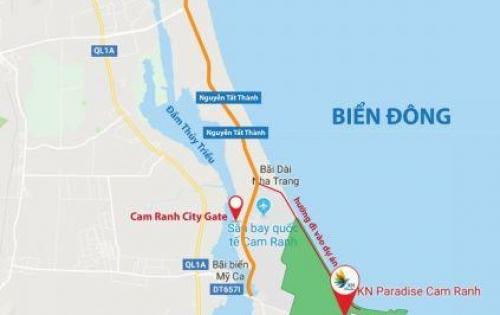 Bán nhà phố biển tại Bãi Dài Cam Ranh, giai đoạn đầu giá cực tốt.PKD:0909160018