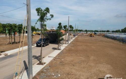 đất nền dự án sau trường thpt bình chánh