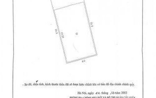 Cần bán gấp đát mặt ngõ oto đường Trung Hòa, Cầu Giấy,DT118m2 mt 5.9m giá 90tr/m2
