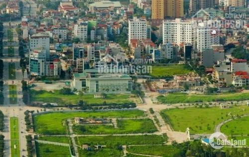 Bán đất đấu giá khu D7 Dịch Vọng , dt 150m2, mặt tiền 7.8m giá 180 tr/