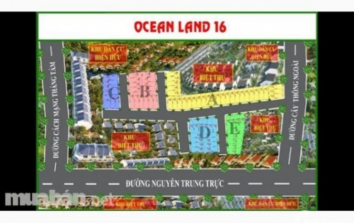 sản phẩm đất nền Ocean  Land đất đẹp giá rẻ