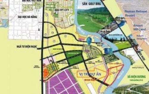 Cơ hội sở hữu đất nền giá rẻ còn sót lại trên TT Đà Nẵng- Quảng Nam giá chỉ 890tr/lo
