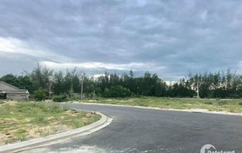 Lô đất đã san lấp mặt bằng Sentosan Riverside giá 9tr5/m2