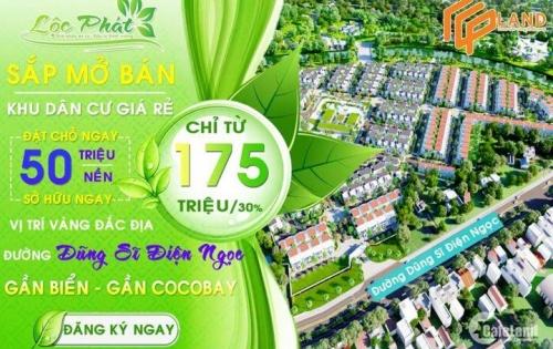 Khu dân cư Lộc Phát - Dự án đất nền giá rẻ duy nhất tại khu vực Điện Ngọc.