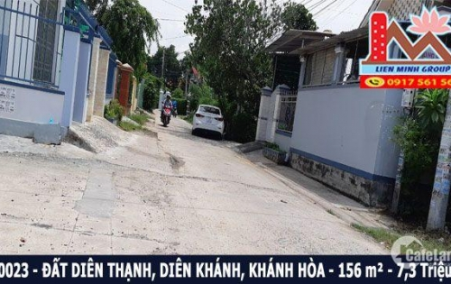 Bán đất thổ cư đường ô tô 7,5 m xã Diên Thạnh, Diên Khánh
