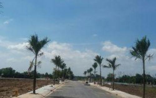Bán đất mặt tiền đường 34 mét trung tâm thị trấn đức hòa