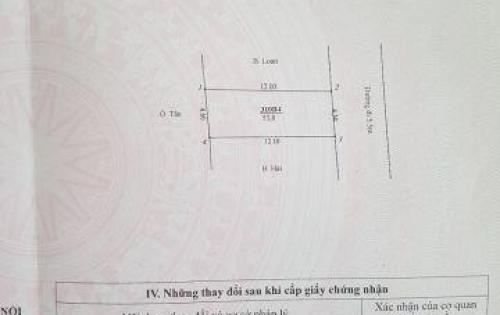 Bán đất thổ cư tại Hoài Đức- Hà Nội