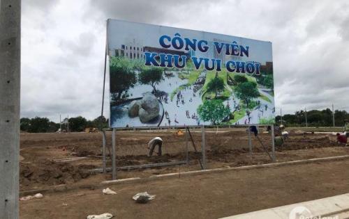 Chính chủ cần bán gấp lô đất mặt tiền Huỳnh Văn Trí, Thổ cư 100%, SHR Từng Nền