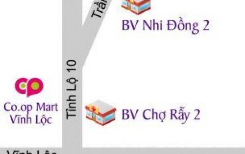 Bán đất 5x12m,5x16m,5x20m giá chỉ từ 8tr/m2- Mặt tiền tỉnh lộ 10- Bình Chánh