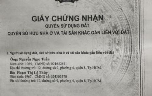 Bán đất nền sổ đỏ riêng tại xã Bình Hưng - Bình Chánh, ngay ngã tư Nguyễn Văn Linh