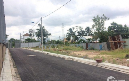đất mặt tiền kinh doanh ngay Cầu Xáng đường Đỗ Văn Dậy ,Hóc MÔn