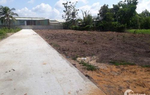 Đất thổ cư ngay trung tâm thị trấn Củ Chi 150m2 giá 450tr SHR