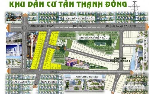 Bán đất dự án khu dân cư Tân Thạnh Đông, chợ Sáng, huyện Củ Chi, TP. Hồ Chí Minh