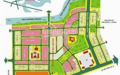 Cần bán lô đất nhà phố dãy A5 dự án Cotec Phú Xuân, diện tích 100m2, giá 34tr/m2. LH 0917579704