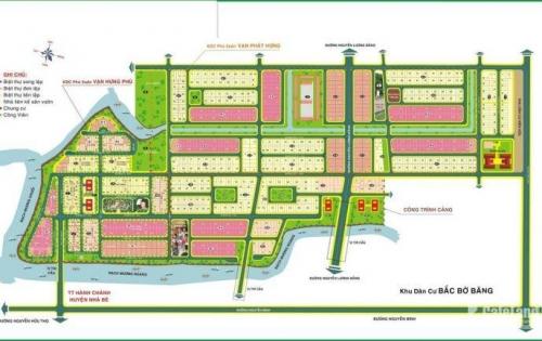 cần bán nhanh lô Đất Dãy A8 dự án Vạn Phát Hưng, diện tích 144m2, giá 22.5tr.m2, view kênh. Liên Hệ 0917579704 để Tư Vấn
