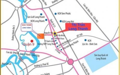 bán đất nền ngay TTTT long thành, giá chỉ từ 11,9tr/m2 SHR, thổ cư 100% lh 0933645918