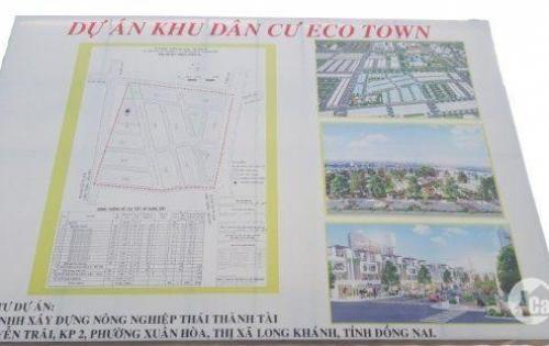 Cần ra gấp 2 lô đất liền kề dự án đẹp nhất TT thị trấn Long Thành