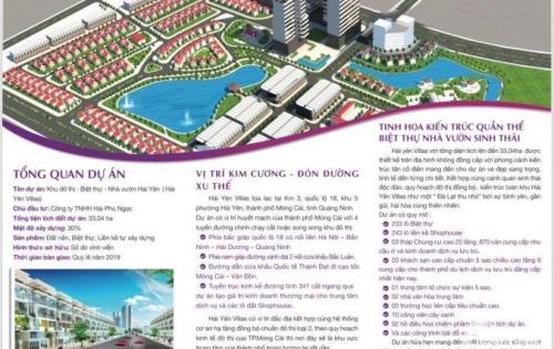 Đất nền dự án vị trí siêu đẹp - Hải Yên Villas