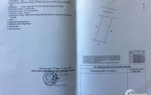 Đầu tư đất thổ cư giá rẻ tại Nha Trang