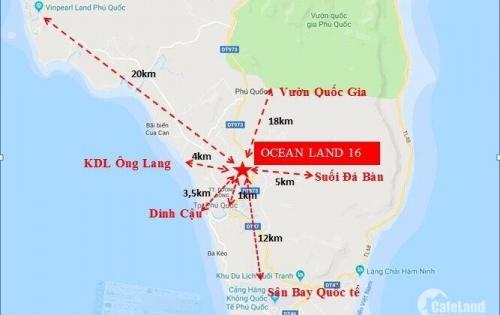 Bán đất Gần TT Dương Đông, Phú Quốc, Giá Chỉ 1tyr6 nền